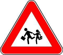 1. (kat. А,A1,Б) Во полето под сообраќајниот знак впиши го бројот ...